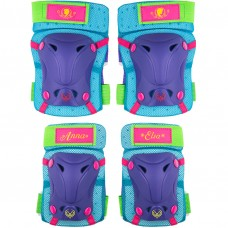 Set protectie Skate Cotiere Genunchiere Frozen Seven SV9024 Initiala