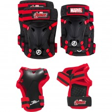 Set protectie Skate Cotiere Genunchiere si Incheieturi Avengers Seven SV9066 Initiala