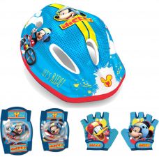 Set Casca, protectie cotiere genunchiere si manusi Mickey Seven SVP3302845 Initiala