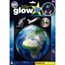 Stickere 3D - Planeta Pamant The Original Glowstars Company B8105 Initiala