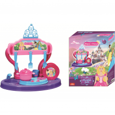 Bucatarie copii 15 piese Princess Maya and Friends Ucar Toys UC126 Initiala