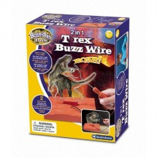 2 in 1 T Rex Buzz Wire Brainstorm Toys E2049 Initiala
