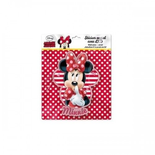 Sticker de perete cu led Minnie SunCity LEY2266LRB Initiala
