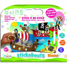 Stickere Pirati Stickabouts Fiesta Crafts FCT-2823 Initiala