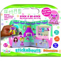 Stickere Printese Stickabouts Fiesta Crafts FCT-2824 Initiala