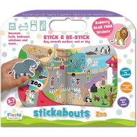 Stickere Zoo Stickabouts Fiesta Crafts FCT-2874 Initiala