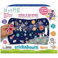 Stickere Spatiu Stickabouts Fiesta Crafts FCT-2892 Initiala