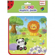 Puzzle magnetic Zoo Roter Kafer RK5010-04 Initiala