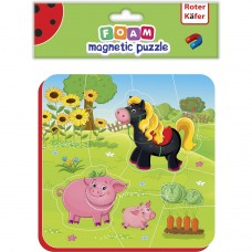 Puzzle magnetic Ferma Roter Kafer RK5010-06 Initiala