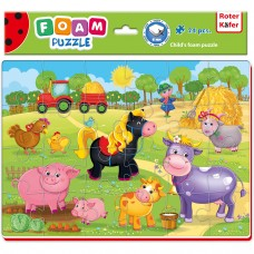 Puzzle Ferma 24 piese Roter Kafer RK1201-05 Initiala