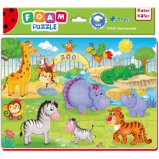 Puzzle Zoo 24 piese Roter Kafer RK1201-06 Initiala