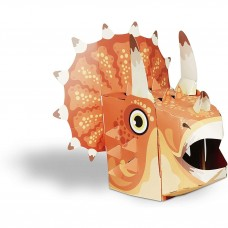 Masca 3D Triceratops Fiesta Crafts FCT-3017 Initiala