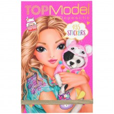 Carnet stickere Alpaca Top Model Depesche PT10354 Roz