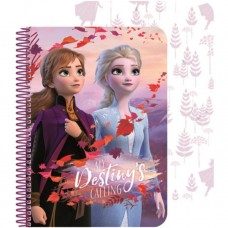 Carnetel de notite Disney Frozen Ice Magic 3D A5 SunCity ARJ002787A Initiala