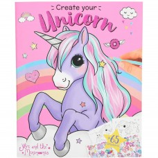 Carte de colorat Create your Unicorn Ylvi Depesche PT10534 Initiala