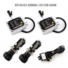 H4 H/L NORMAL 12V 35W 4300K