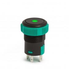 Buton de comanda 12V ND, LED Verde