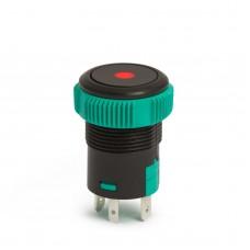 Buton de comanda 12V ND, LED Rosu