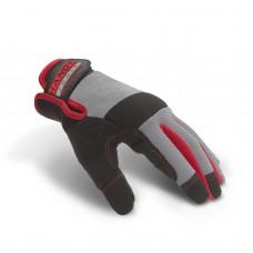 Manusi de protectie L, cu fixare prin scai, cu degete capacitive pt. afisaje tactile