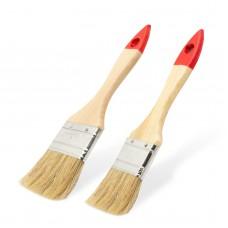 Set pensule, model rotund - mâner lemn - 2 buc./pachet