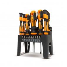 HANDY - Set şurubelniţe cu suport - 22 piese
