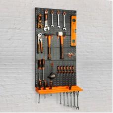 Panou organizator de scule, de perete, 50 x 33 cm