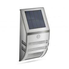 Lampă solară LED - cu senzor de mişcare - alb rece - 170 x 78 mm