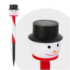 """Lampă solară LED - model """"Om de zăpadă"""""""