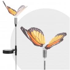 Garden of Eden - Lampă solară LED - model Fluture - 65 cm