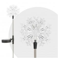 """Lampă solară LED - model """"Fulg de zăpadă"""""""