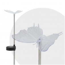 "Lampa solara RGB LED - model ""Fluture""-"