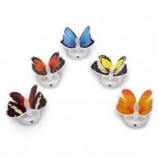 Fluture cu LED in culori schimbatoare, autoadeziv