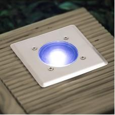 lampa incastrabila rezistenta la pasi, model patrat