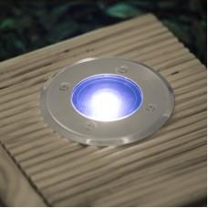 lampa incastrabila rezistenta la pasi, model circular
