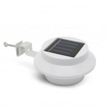 Lampa solara pt. stresini/garduri cu 3 LED-uri, alb
