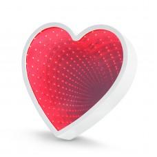Oglindă magică LED - model inimă