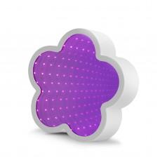 Oglindă magică LED - model floare