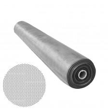 Plasa de tantari cu vanzare la rolă, croibila, 100 cm x 30 m - Gri