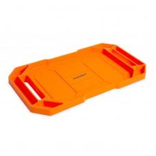 HANDY - Tavă cauciuc  pentru unelte, cu compartimente şi mâner - 53 x 29,5 x 3,5 cm