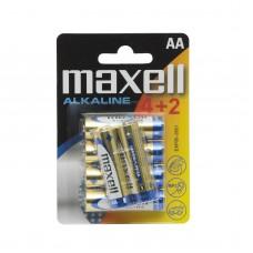 Baterii alcaline AA – LR06 - 4+2 /blister