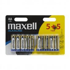 Baterii alcaline AA – LR06- 5+5/blister