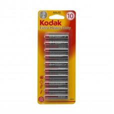 Set 10 baterii AA Kodak Zinc Extra Heavy Duty
