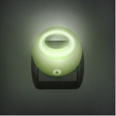 Lampa de veghe cu LED si senzor de lumina - verde
