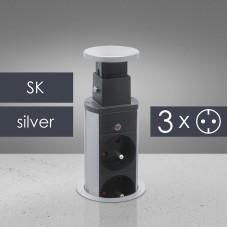 Distribuitor camuflabil, triplu - standard Slovacia
