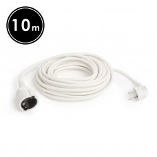 Delight - Cablu prelungitor, 3 x 1,0 mm², 10 m
