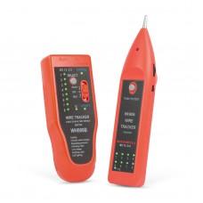 Tester pt. perechi de cabluri, cu LED - cu tester cablu RJ45