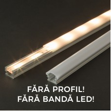Ecran opal pt. profil LED, 41013M1, 1m