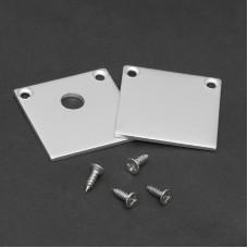 Element de inchidere pt. profiluri LED din aluminiu, 2 buc.
