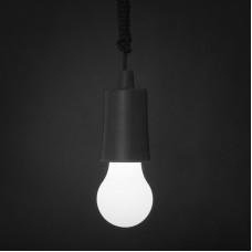 Lampa LED suspendabila - neagra