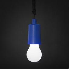 Lampa LED suspendabila - albastra
